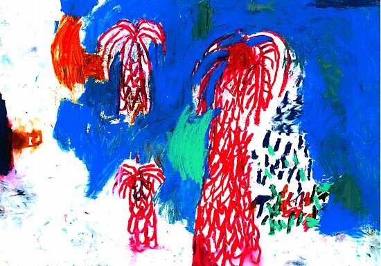 palm trees  by Shylie Edwards