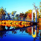 Autumn Bridge by Lina