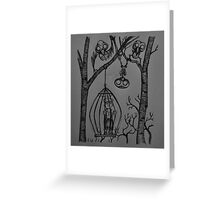 The Birds Are Watching Greeting Card