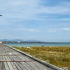 Historic Long Jetty - Port Welshpool by Marilyn Harris