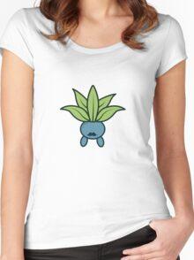 Gentlemon - Oddish Women's Fitted Scoop T-Shirt