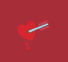ARROW through the HEART by jazzydevil
