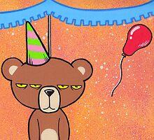 Birthday Ted by Gillyafterdark