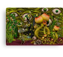 The Eyeball Garden Canvas Print