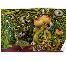 The Eyeball Garden Poster