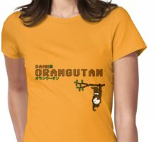 Damn Orangutan Womens Fitted T-Shirt