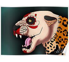Day of the Dead Jaguar Poster