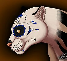 Day of the Dead Clouded Leopard by HDevers