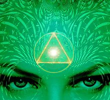 Ajna ~ Third Eye  by Ellen Vaman