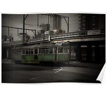 Melbourne vintage tram, Still chugging along Poster