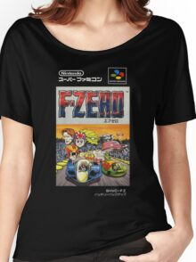 F-Zero Nintendo Famicom Box Art (NES) Women's Relaxed Fit T-Shirt