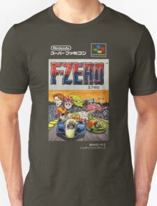 F-Zero Nintendo Famicom Box Art (NES) T-Shirt