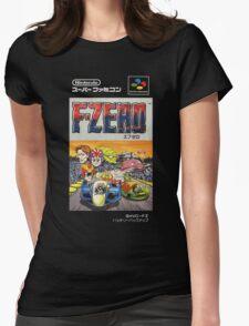F-Zero Nintendo Famicom Box Art (NES) Womens Fitted T-Shirt
