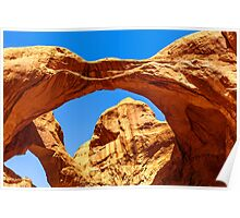 Double Arches Poster