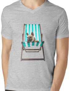 Pampered Pooch Mens V-Neck T-Shirt