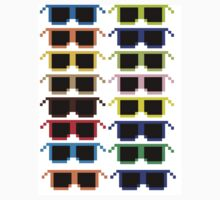 Pixel Sunglasses by Branden Sero