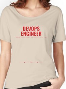 Devops Engineer (Red) - Sysadmin Day Women's Relaxed Fit T-Shirt
