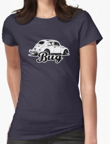 Retro BUG T-Shirt 2 Color Womens Fitted T-Shirt