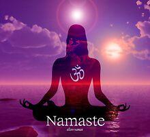 Namaste  by Ellen Vaman
