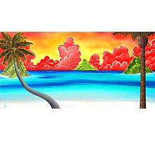 Paradise Panorama Photographic Print
