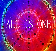 All is one mandala  by Ellen Vaman