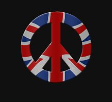 Peace sign and Union Jack Hoodie
