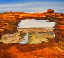 Natures Window - Kalbarri National Park, Australia by Kay Cunningham