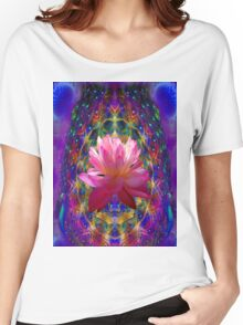 Lotus Mandala  Women's Relaxed Fit T-Shirt