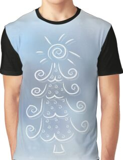 Doodle Christmas tree Graphic T-Shirt