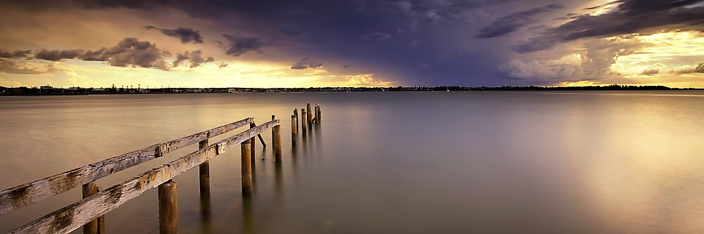 Cleveland Point Jetty by Maxwell Campbell