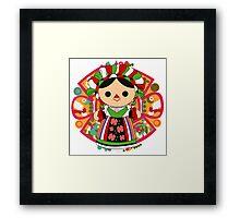 Maria 5 (Mexican Doll) Framed Print