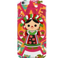 Maria 5 (Mexican Doll) iPhone Case/Skin
