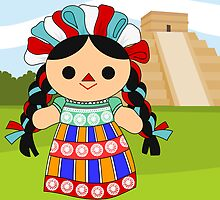 Maria 6 (Mexican Doll) by alapapaju