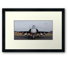 F/A 18-A Hornet - 3SQN RAAF Williamtown Framed Print