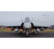 F/A 18-A Hornet - 3SQN RAAF Williamtown Photographic Print