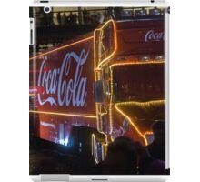Coca Cola Truck, Glasgow iPad Case/Skin