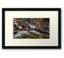 East Kiewa River Framed Print