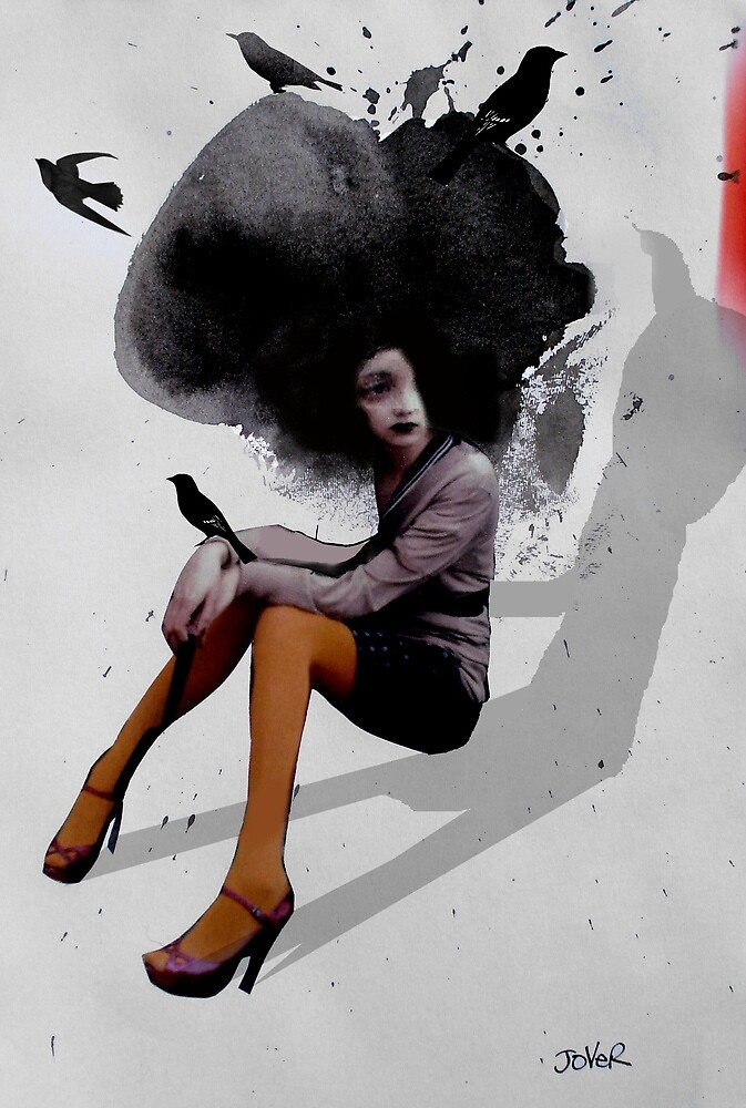 the odd bird girl by Loui  Jover