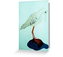 Bird blues Greeting Card