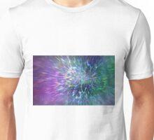 Photon World Algorithmic Abstract Art Unisex T-Shirt