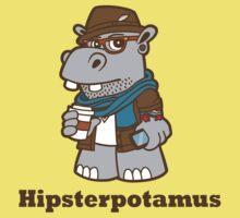 Hipsterpotamus Kids Tee