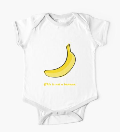 This is not a banana One Piece - Short Sleeve