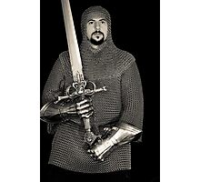 Medieval Knight #5 Photographic Print