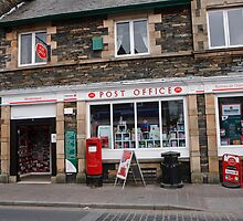 Windermere Post Office by Keith Larby