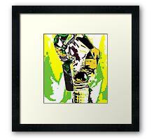 Cricketer Framed Print