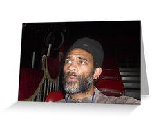 Self-portrait/Zippo's Circus -(150413)- Digital photo/Fujifilm Finepix AX350 Greeting Card