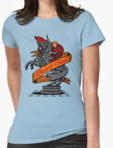 Wizard's Chess Womens Fitted T-Shirt