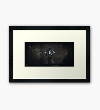 Dystopia Framed Print