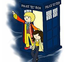 You and Me and Time and Space by notjustabook