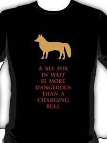Sly Fox and the Bull T-Shirt